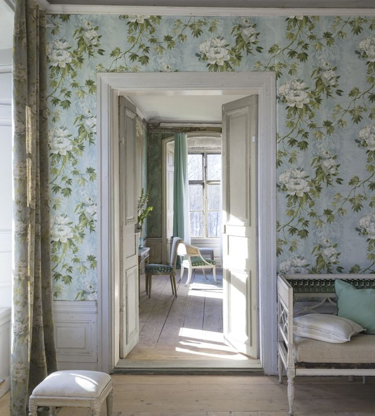 Design Classic | Vintage | Floreale Wallpaper by Designers Guild | Jane Clayton