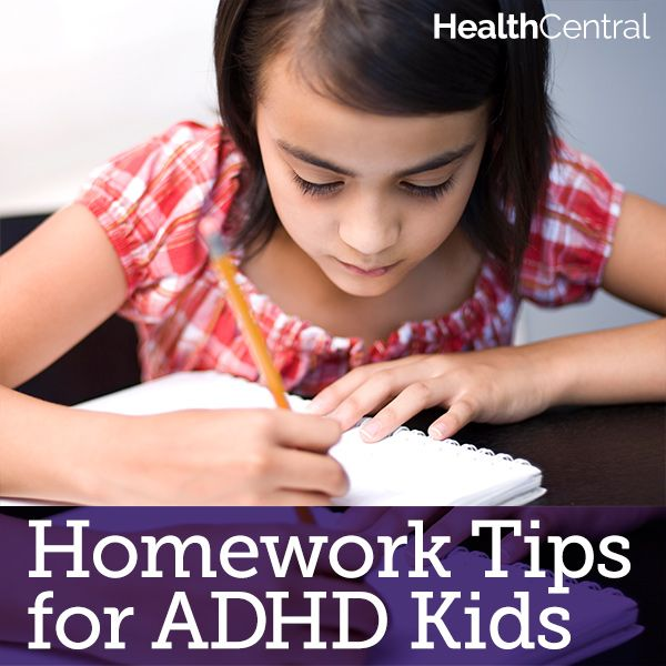 Tips to Help Children With ADHD Complete Their Homework