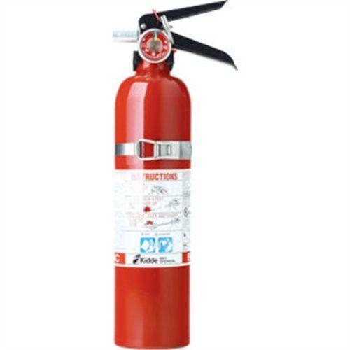 Kidde 466422 Automotive 2-3/4 lb BC Fire Extinguisher w/ Steel Strap Bracket (Disposable)