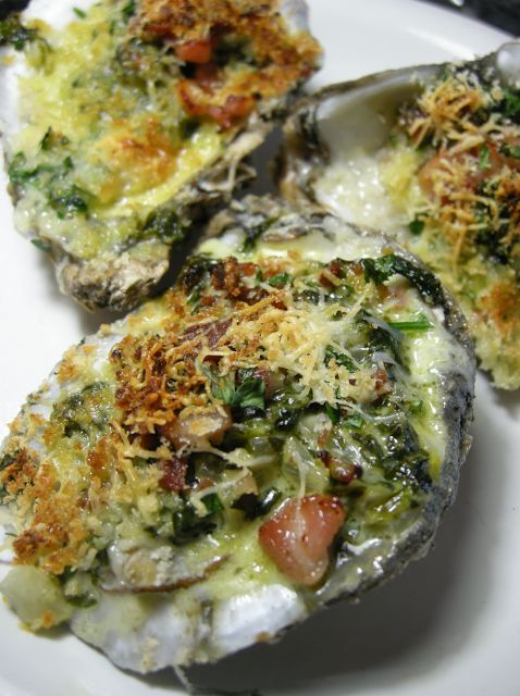 Oysters Rockefeller a decadent delight that will send hardcore seafood lovers into a state of culinary ectasy.