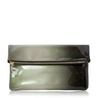 Head Over Heels by Dune Black 'Balley' ombre fold over clutch bag- | Debenhams
