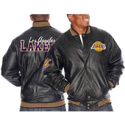 Los Angeles Lakers Double Team Jacket - Black