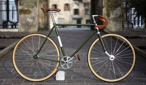 Road bike to fixed gear: vintage bicycle - InfoBarrel