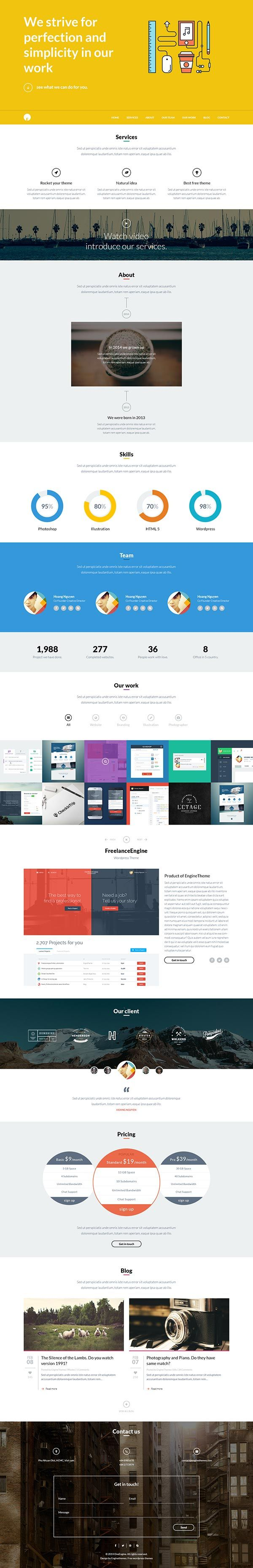 the 25 best free download bootstrap template images on pinterest