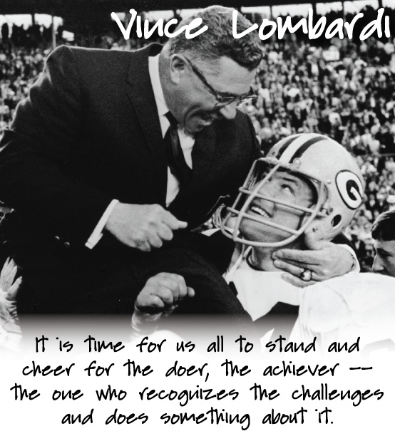 Motivational Quotes For Sports Teams: Vince Lombardi Quotes (series)
