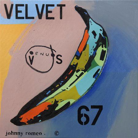 Johnny Romeo  Venus 67 - 2013   Acrylic and oil on canvas   71 x 71 cm