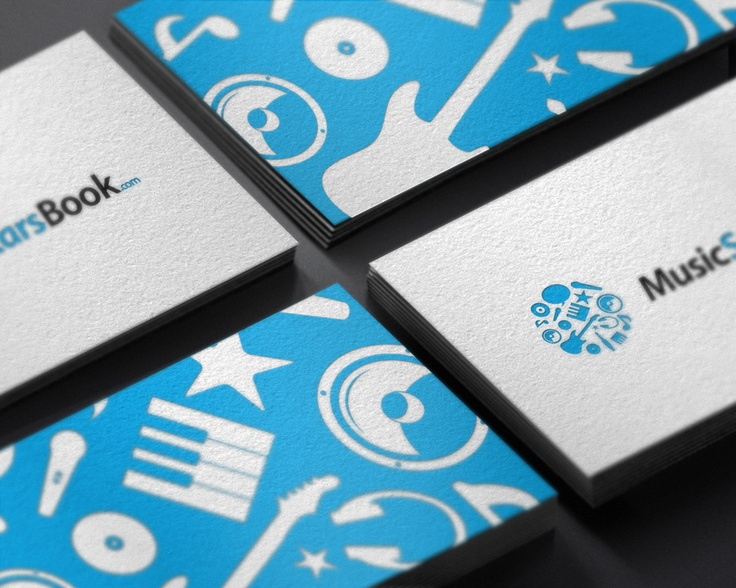 MusicStarsBook cartes de visite