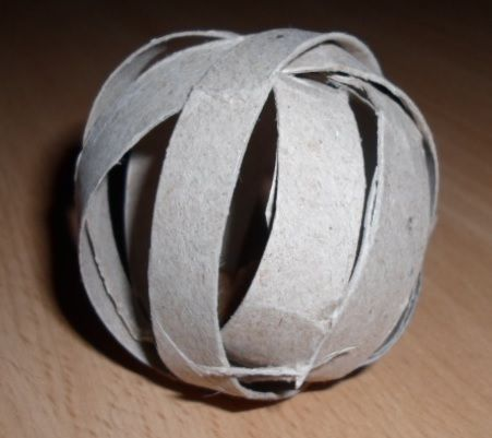 Treatball for rodents. This one is made for my hamster.