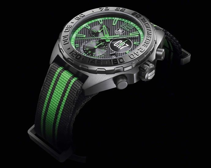 TAG HEUER LAUNCHES FORMULA 1 CHRONOGRAPH CRISTIANO RONALDO LIMITED EDITION | Luxury Retail.