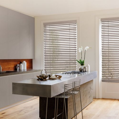 Calico Faux Wooden blinds