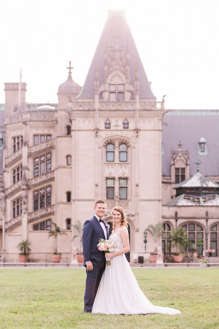 new england wedding venues on budget%0A Laura and Bradley u    s Biltmore Estate Elopement