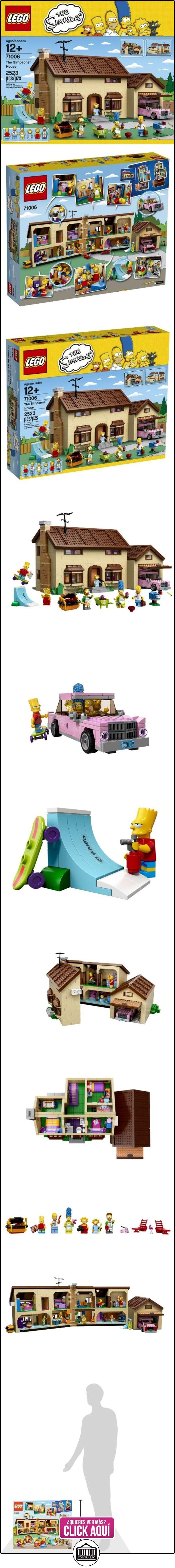 LEGO The Simpsons La Casa de The Simpsons - juegos de construcción (Dibujos animados, Niño/niña, Multicolor)  ✿ Lego - el surtido más amplio ✿ ▬► Ver oferta: https://comprar.io/goto/B00HX14C7Q