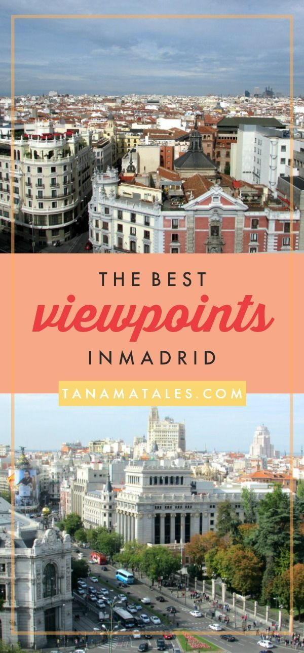 Things to do in Madrid, Spain - Not sure if you know this but Madrid is full of fantastic viewpoints.  It is possible to see the city from above from multiple strategic points located on some of the most interesting neighborhoods. The best thing is that most of these spots offers a nice respite from eating, shopping and checking the attractions.  Find your nearest viewpoint and enjoy!