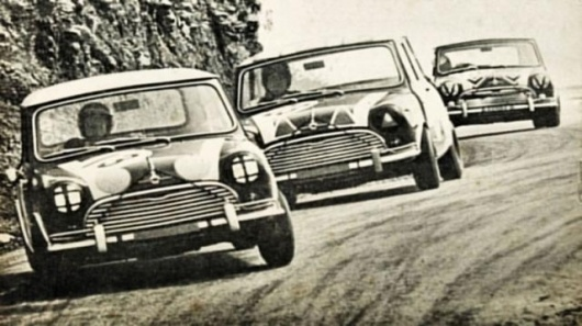 Minis win at Bathurst,1966
