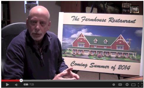 Fair Oaks Farms #Restaurant in Fair Oaks, #Indiana VIDEO -- The latest on the new steakhouse restaurant! Set to open in June of 2014.