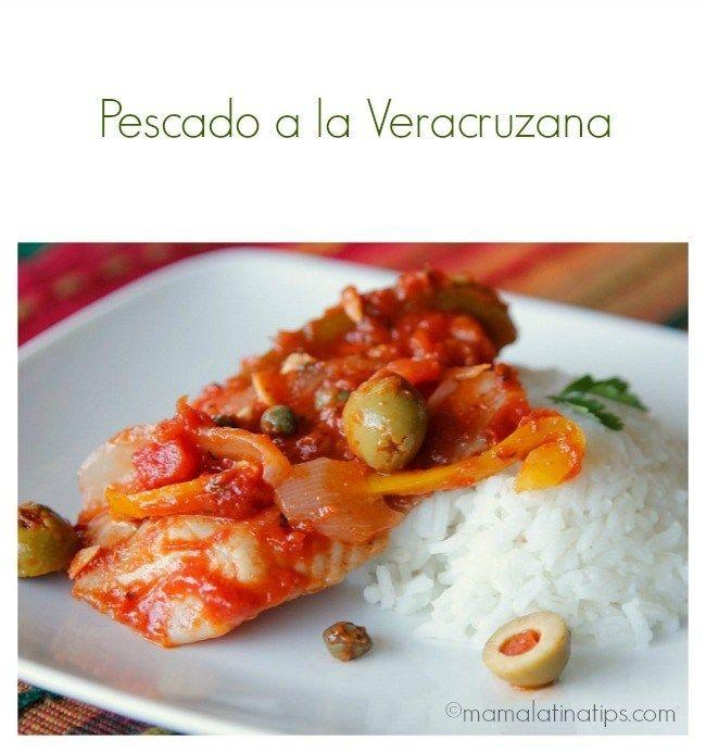 Fish Veracruz Recipe Mama Latina Tips Kidney Recipes, Fish Recipes, Seafood Recipes, Mexican Food Recipes, Healthy Dinner Recipes, Great Recipes, Cooking Recipes, Favorite Recipes, Healthy Foods