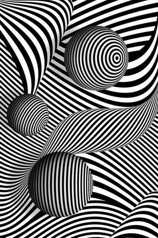 Line Art Optical Illusion : Best op art ideas on pinterest