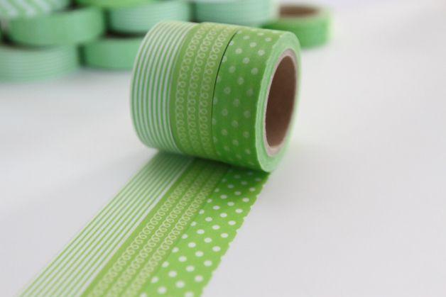 Il ne manquait plus que le masking-tape #greenery ! A retrouver sur DaWanda.com
