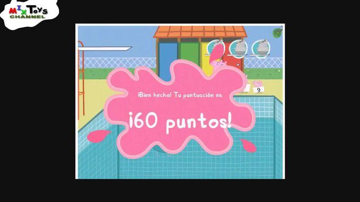 Mixtoys. Папа свин прыгает в бассейн. Игра для детей. Peppa Pig. pig Dad...