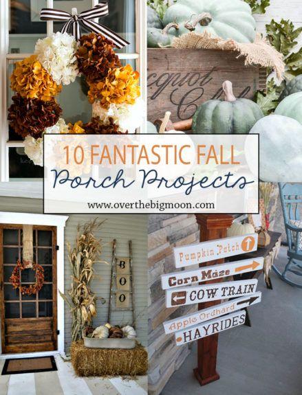 618 best autumn decorating ideas images on pinterest autumn 10 fantastic fall porch projects diy solutioingenieria Choice Image