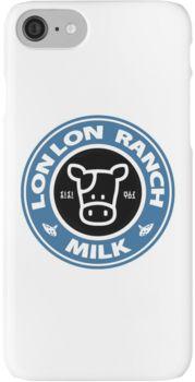 Legend of Zelda: Ocarina of Time Lon Lon Ranch Milk iPhone 7 Cases