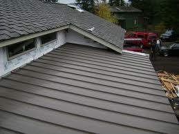Shingle And Metal Roof Combination Architectural