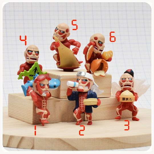 Attack on Titan Cute Capsule Toys //Price: $14.00  ✔Free Shipping Worldwide   Tag your friends who would want this!   Insta :- @fandomexpressofficial  fb: fandomexpresscom  twitter : fandomexpress_  #shopping #fandomexpress #fandom