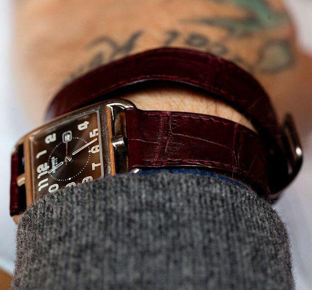 Cape Cod Watch by Hermes: Cod Watches, Hermes, Men Style, Men Fashion, Winter Fashion, Leather Men, Capes Cod, Philipcrangi, Men Watches