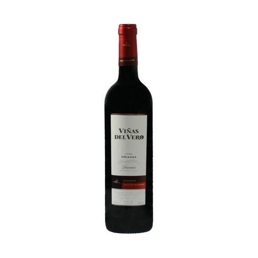 VdV Crianza 750 ml. Red Wine Viñas del Vero, made with Tempranillo and Cabernet Sauvignon grapes.