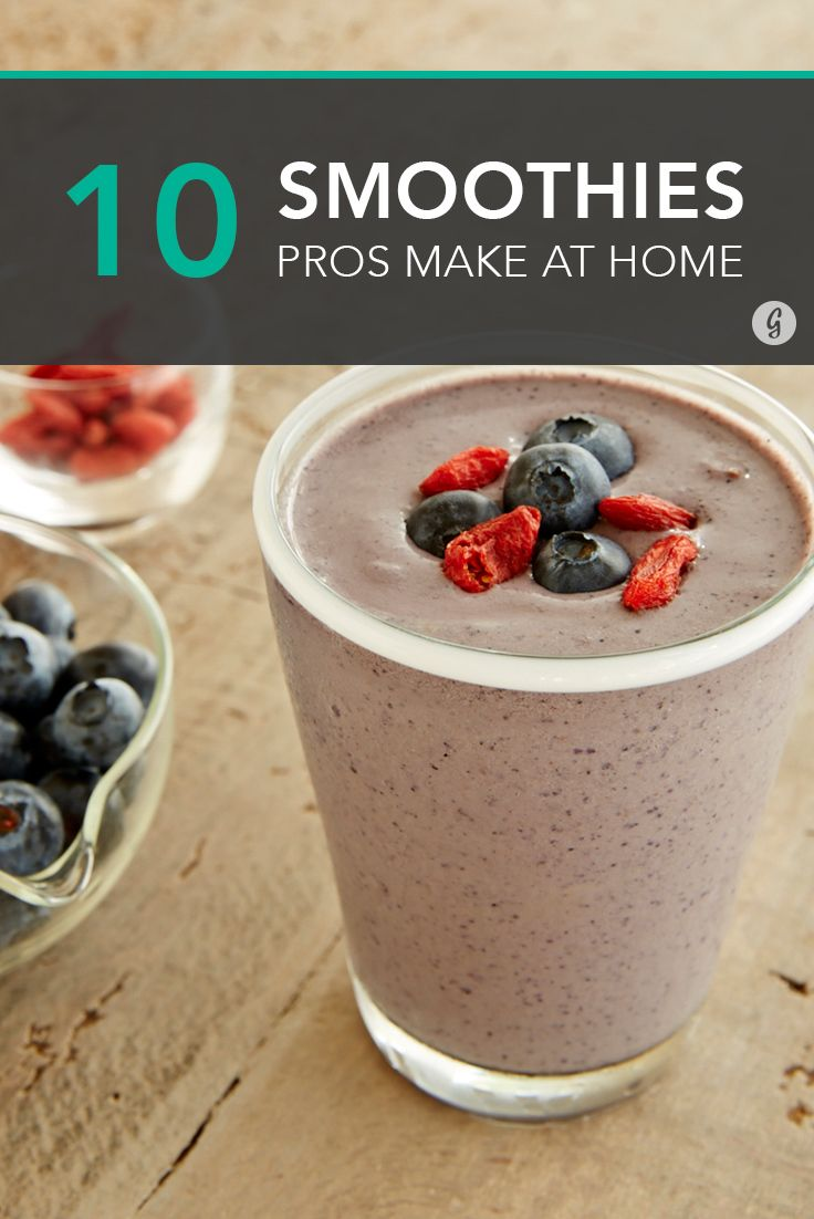 The Smoothies That Juice Company Owners Make for Themselves #smoothie #recipe #healthy