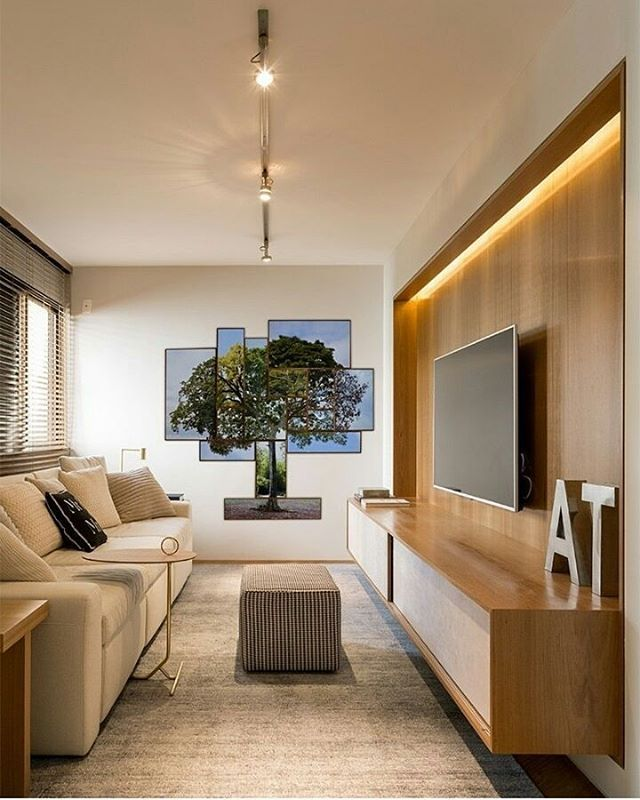 Home theater l Destaque para a fotografia impressa trazendo a natureza pra dentro do decór! Projeto Triplex Arquitetura. . #homestyle #hometheater #home #instahome #boanoitinha #sextou #arquitetura #architect #arquiteta #architecture #natureza #photo #tv #blogfabiarquiteta #fabiarquiteta