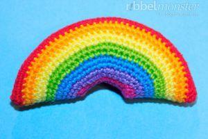 Amigurumi – Kleinsten Regenbogen häkeln