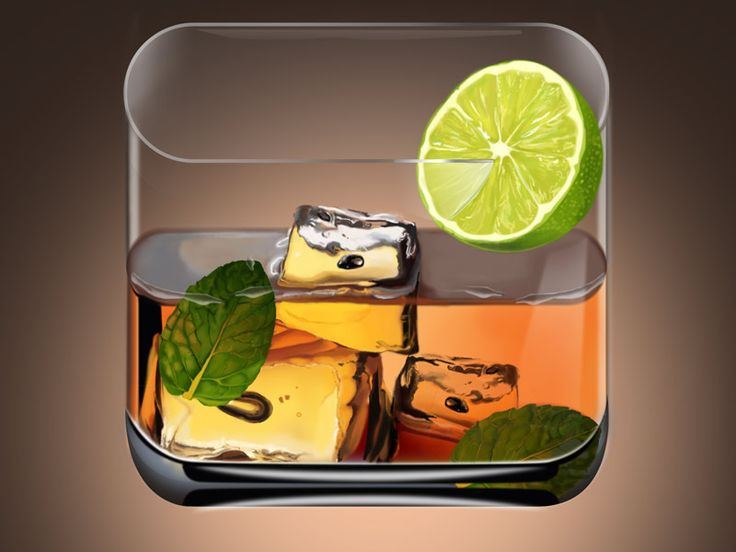 Cocktail iOS Icon by Jon frank