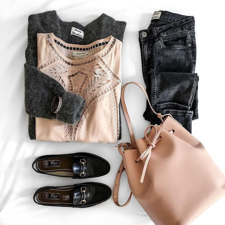 Rose gold makes everything look classy doesnt it?  Need a Digital Closet to organise your clothes? Check out the Sprubix app now! (Link in profile)  #Repost @theworkinggirl  SOFTMONDAY   Top from @magalipascal  Bracelet from @spellonme  Jeans & Cardi by acnestudios  Loafers by gucci  Bag by mansurgavriel  #friday #flatlay #ootd #ootn #ootdsg #ootdindo #outfit #outfitoftheday #fashion #fashionista #style #lookbook #shop #shopping #instafashion #instagood #inspiration #closet #wardrobe #app…