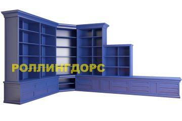 Библиотека синего цвета! что может быть удивительнее?