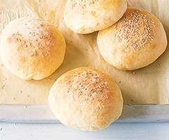 Rezept Burger Buns/Brötchen von duke25 - Rezept der Kategorie Brot & Brötchen