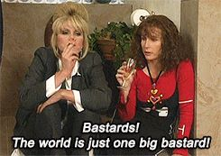 An Absolutely Fabulous Gif For Every Single Life Scenario Pinterest : @uniquenaja†