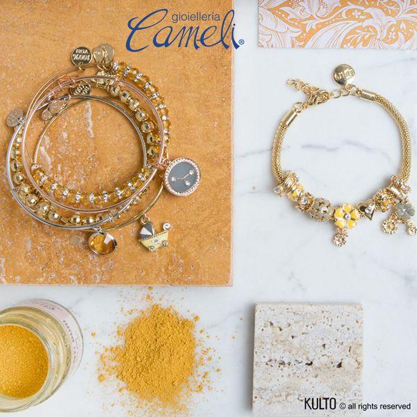 Cameli presenta la nuova linea di #gioielli, #KultoJewels, che arricchisce la sua già vasta collezione di marchi prestigiosi del mondo jewelry. Sotto, vi presentiamo un fantastico bracciale dalle tonalità autunnali, completerà il vostro outfit!  Venite a provarlo!  #Cameli #MonteUrano