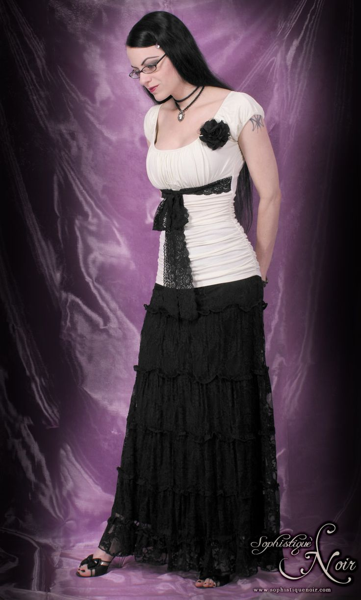 Sophistique Noir  Gothic Fashion For The Sophisticated -6246