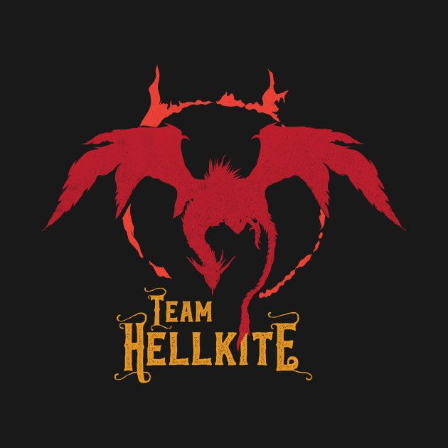 """""""Team Hellkite"""" is now live and rockin' on @Teepublic! Get it here http://tee.pub/lic/yDXz2-umd7w Other color variation is also available. The design is available in Tank, Long Sleeve Shirt, Baseball Tee, Kids, Crewneck, Hoodie, Phone Cases, Notebook, Laptop Case and Mugs. Check it out! #darksouls #hellkite #dragon #pokemon #parody #mashup #gamer #videogames #lordran #pokemongo"""