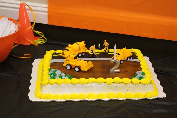 Construction Cakes At Walmart And Walmart On Pinterest