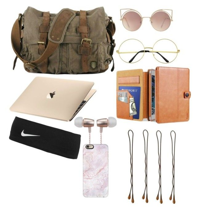 """Bag "" by greencarey on Polyvore featuring MANGO, Cynthia Rowley, NIKE, Vidal Sassoon and Casetify"
