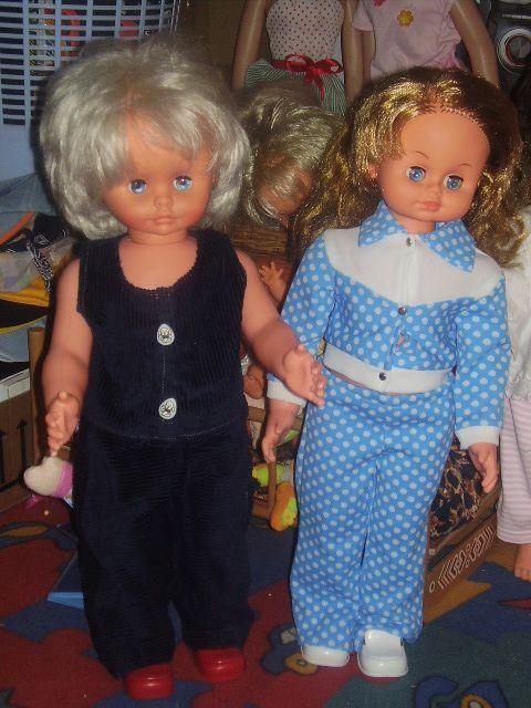 Retro panenky CHODIČKY