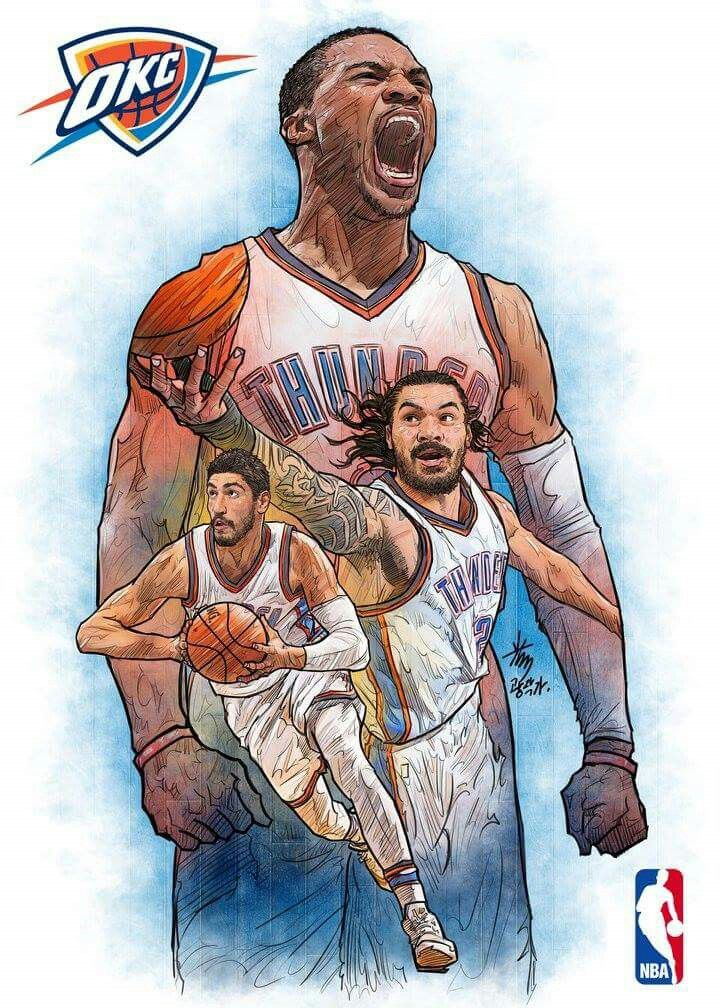 (Northwest) Oklahoma City Thunder WEARS PAUL GEORGE