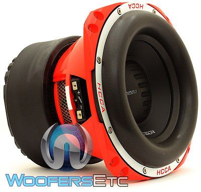 """HCCA102 ORION 10"""" PRO 3000W MAX 2 OHM SUB DVC SUBWOOFER SPEAKER LOUD BASS NEW"""