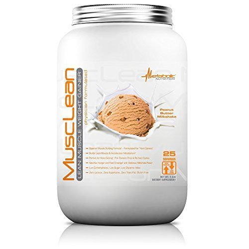 Metabolic Nutrition, Musclean, 100% Whey Protein Meal Replacement, Weight Gainer, High Protein, Low Carb, High Fat, Keto Diet Supplement, Digestive Enzymes, 24 Vitamins and Minerals, 5 pound (50 ser | Keto Diet Suplement 8