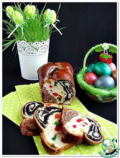 """Плетенка """"Праздничная"""" - кулинарный рецепт"""