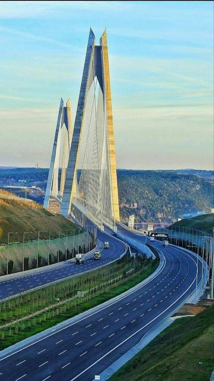Yavuz Sultan Selim Bridge Istanbul