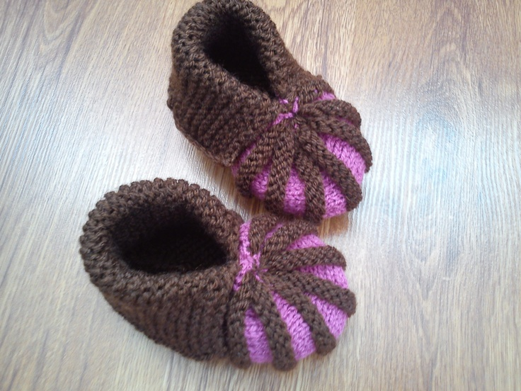 baby booties - papučky