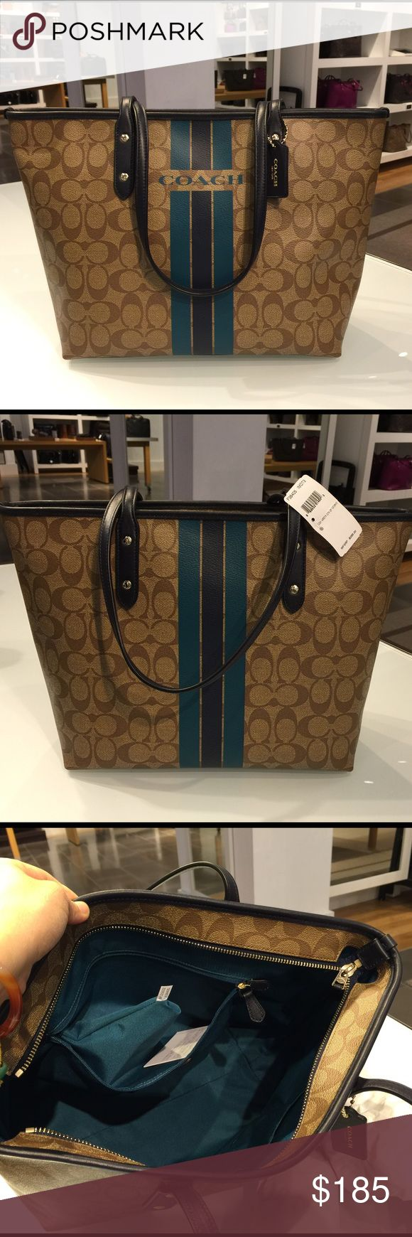 🍀Coach Tote Bag🍀 100% Authentic Coach Tote Bag, brand new with tag! Coach Bags Totes